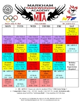 bur Oak final 2016 Schedule