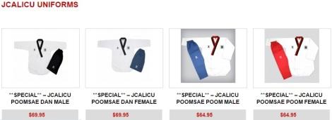 JCALICU uniform